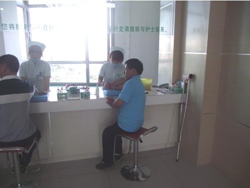 图为长春美年大健康体检中心为肢残人体检-吉林省暨长春市举办第三